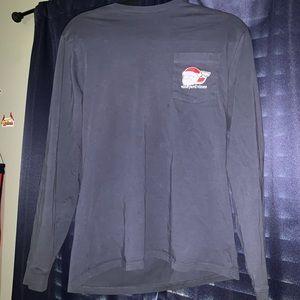Vineyard Vines Shirts - This navy blue long sleeve Vineyard vine tee.